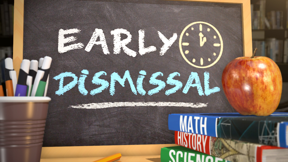 Thursday, February 14th – Early dismissal